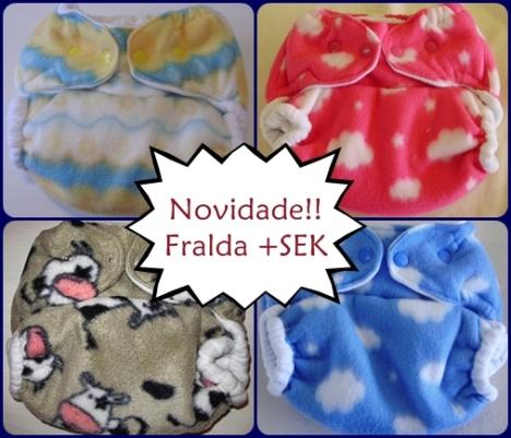 Fraldas +SEK, a fralda mais sequinha!