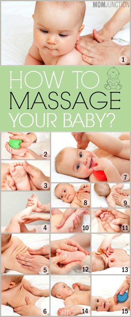 Você já fez massagem no seu bebê hoje? Olha quantas idéias e sugestões para te animar? Apreveite <3