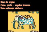 sling preto bolso elefante